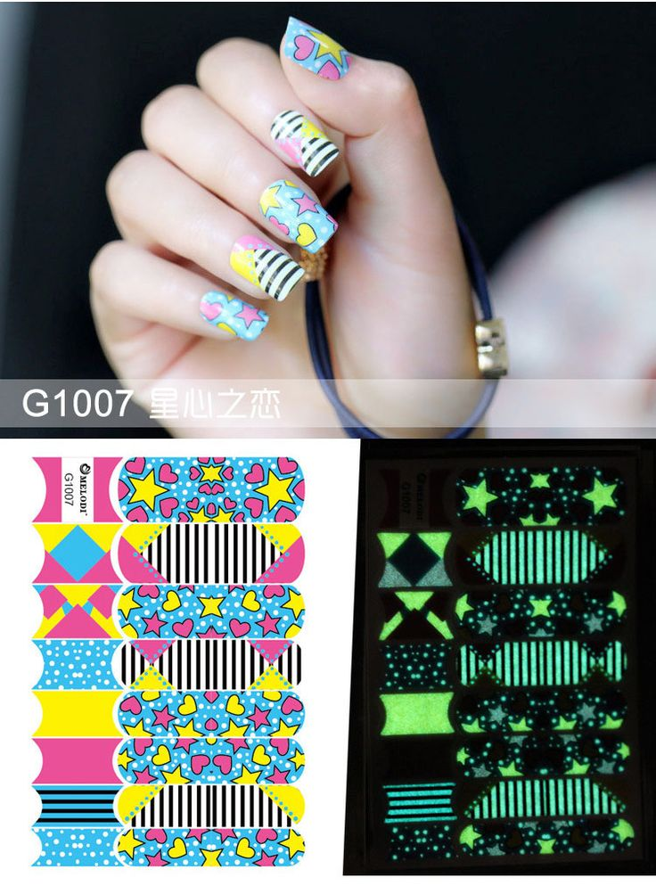 The 13 best nail sticker images on Pinterest | Nail decals, Nail ...