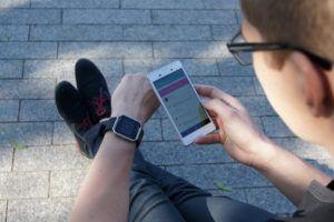 Fitbit App, dla zapalonych sportowców: http://bieganieuskrzydla.pl/fitbit-app/