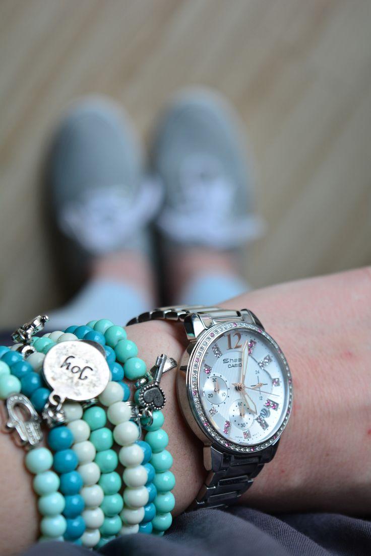 Charms bracelets.