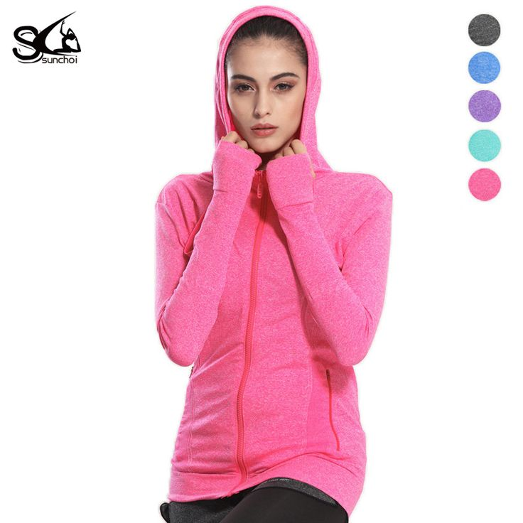 Find More Hiking Jackets Information about SUNCHOI  Yoga Sport Hoodies Jacket Women Gym Running Thumb Hole Clothes Breathable Long Sleeve Zipper Sportswear Fitness Jacket,High Quality jacket bench,China jacket for women winter Suppliers, Cheap sportswear prices from SUNCHOI Store on Aliexpress.com