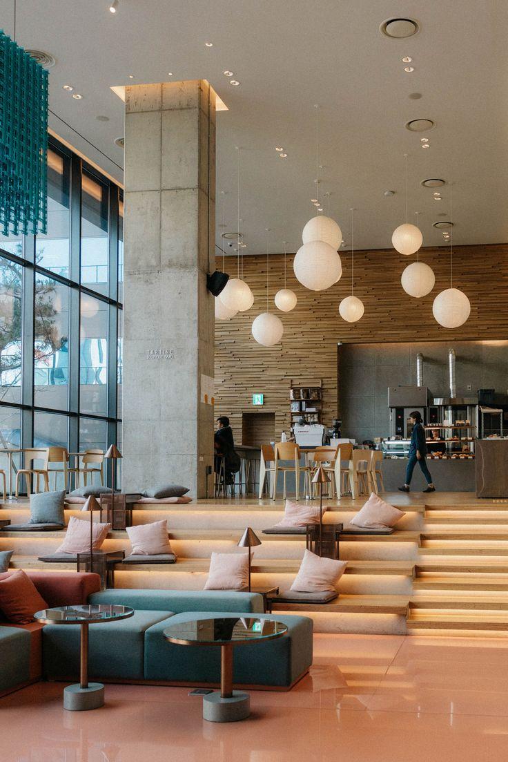 Seoul Rising Egg Canvas Cafe Interior Design Office Design Inspiration Office Interior Design