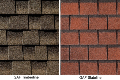 Bardeaux d'asphalte: couleurs, styles et caractéristiques