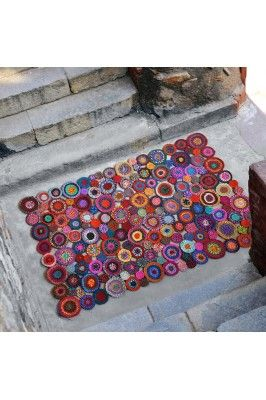 An elegant pick for your home decor is this Bilbao Multicoloured Recycled fabric Rug-120x180 #handloomrugs #onlinerugs #colourfulrugs #onlinehandloomrugs #homedecor #rugsonline Buy now-  https://trendybharat.com/festival/handloom/bilbao-multicolor-recycled-fabric-rug-120x180-bilbao-multi-120x180