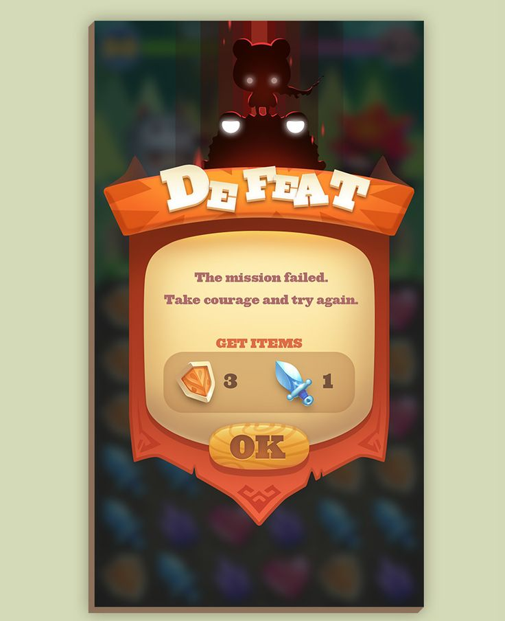 Q version of the casual game on Behance
