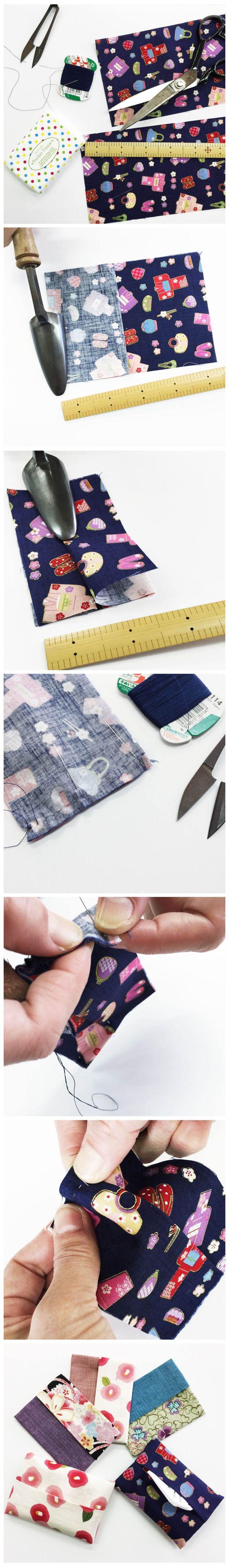 ポケットティッシュカバーの作り方 | 株式会社 東亜