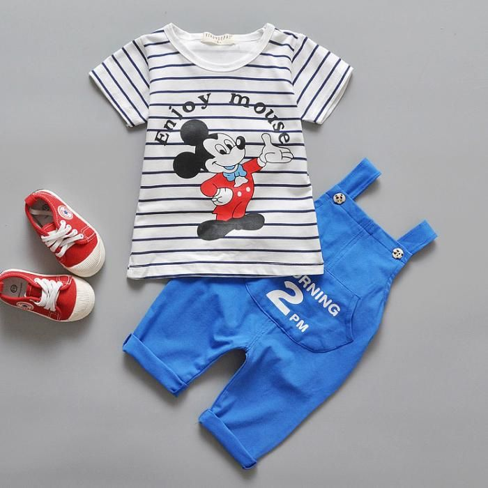 Male Summer Clothing Set Baby Boy Baby Clothes 0 2 Years Old Semi Children Summer Clothes 1 Kids Boutique Clothing Wholesale Kids Clothing Online Kids Clothes