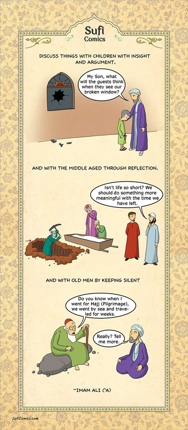 3 Habits of Highly Effective Communicators - Sufi Comics