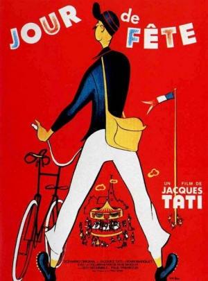"""Jacques Tati, né Jacques Tatischeff en 1907 au Pecq (Yvelines), mort en 1982 à Paris, est un réalisateur et acteur français,  acclamé par le """"Tout Paris"""" dès 1934. """"Jour de fête"""" remporte le Prix de la mise en scène à la Biennale de Venise 1949. Tati construit une oeuvre burlesque fondée sur une observation du quotidien déshumanisé de la société moderne. A l'image de Chaplin, Jacques Tati crée et interprète lui-même le personnage récurrent de ses films : Monsieur Hulot. #cinema #tati #france"""