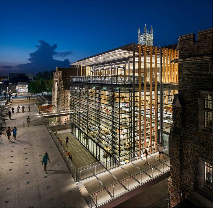 Duke University West Campus - Courtesy of Grimshaw Architects - Photography : James Ewing Photography
