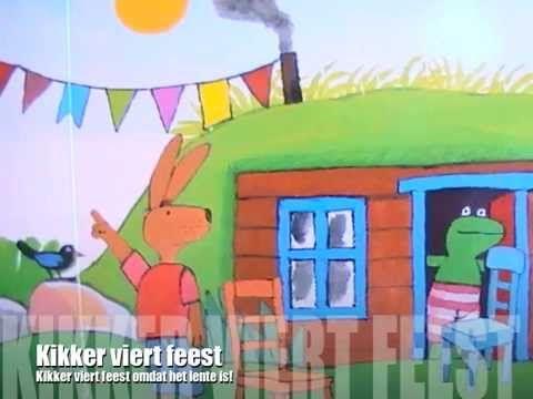 HOERA Kikker viert feest