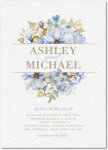 Blue Wedding Ideas Inspired by Serenity   Wedding Paper Divas