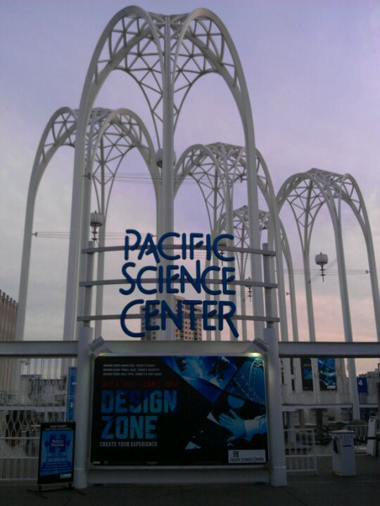 Pacific Science Center in Seattle, WA, The Main Center House has sub-level and underground rooms and areas for SAFETY! As well as the space needle in case of tsunami DTW AREA!
