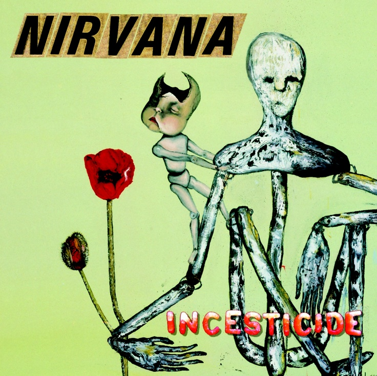 Nirvana 20th Anniversary Edition of Incesticide 45 RPM Edition - Released by Record Store Day for Black Friday!