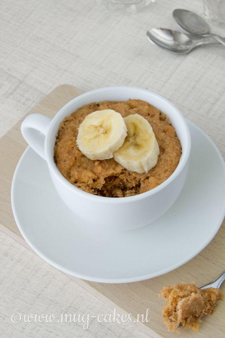 Maak eenvoudig en snel een vegan mug-cake zonder ei (glutenvrij) met behulp van je magnetron! Binnen enkele minuten staat deze mug-cake voor je neus!