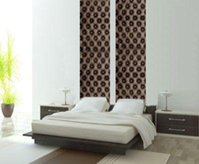 les 64 meilleures images du tableau t te de lit en papier. Black Bedroom Furniture Sets. Home Design Ideas