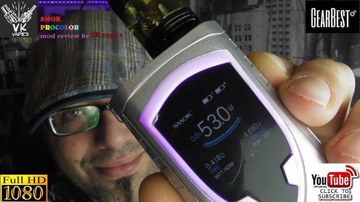 Smok Procolor mod reviewed by Vk vape's (Greek - Ελληνικά)