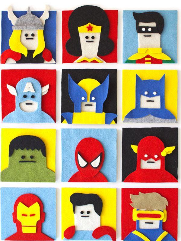 Jacopo Rosati felt superheroes