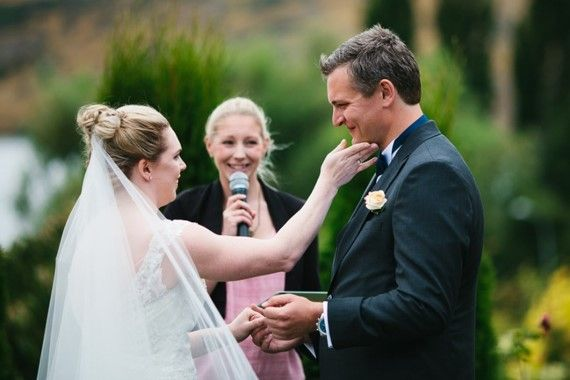 Queenstown Celebrant - Queenstown wedding at Stoneridge Estate