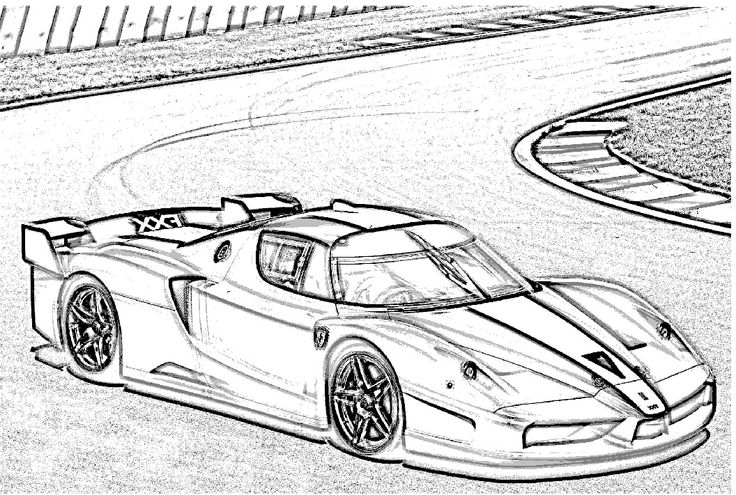 Ferrari fxx coloring page for boys pinterest cars for Coloring pages ferrari cars