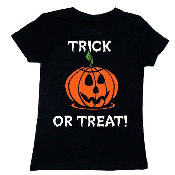 """Wzór z dynią """"Trick or treat!"""" na Halloween z FamilyInBlack.pl"""