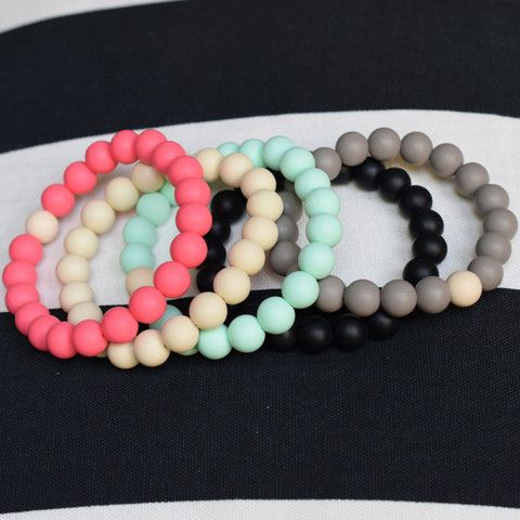Mama & Little | silicone teething bracelets