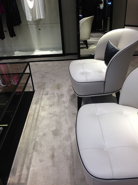 Create an experience when you walk in with comfort and luxury #LuxuryCarpets #Carpets #InteriorDesign #Silk #Custom #Colors