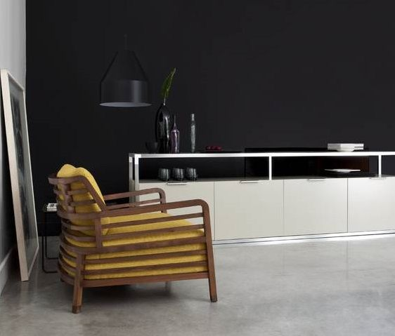 39 dedicato 39 3 door sideboard h75 w189 d45 cm 4 door. Black Bedroom Furniture Sets. Home Design Ideas