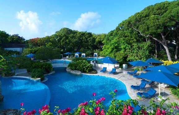 Romantisme et bien-être dans un luxe chaleureux : l'hôtel Sandy Lane à la Barbade est l'un des plus ... - Photo Sandy Lane