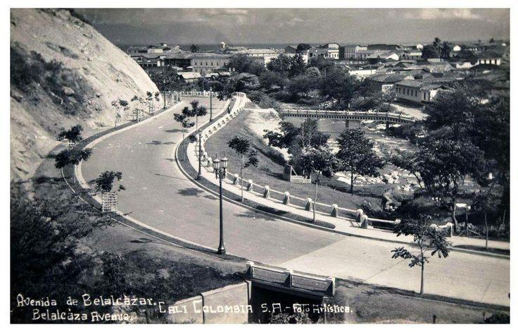 Edgar Montaño Fajardo: CALI VIEJO: Memoria Fotográfica. Avenida Belalcazar