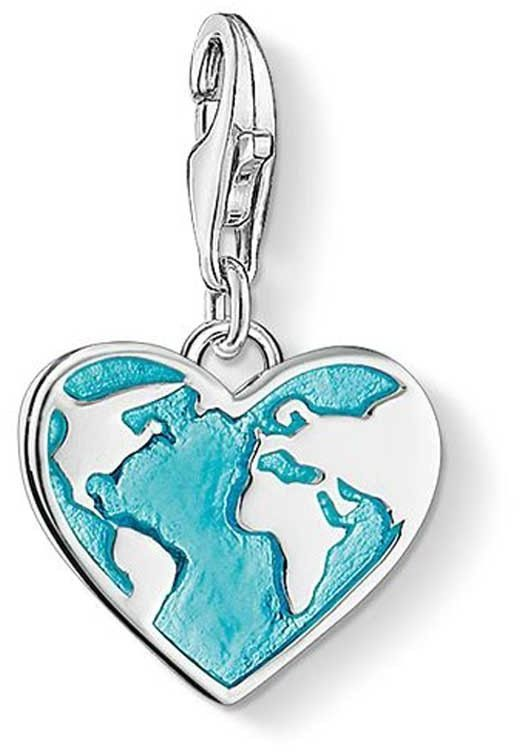 Thomas Sabo Charms Heart globe - Thomas Sabo Charm Club -riipukset - 1429-007-17 - 1