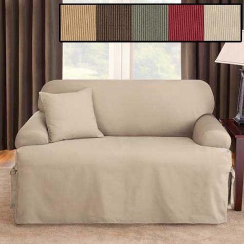 Small Sectional Sofa T cushion sofa cover
