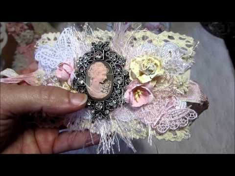 DT Project for Panchito3948 - Fabric Lace Cuffs - YouTube