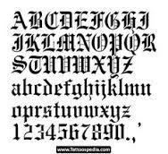 Image result for gangster letters