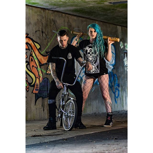 """Monogram"" Tee & ""Conspiring"" Tee Available at www.crmc-clothing.co.uk 