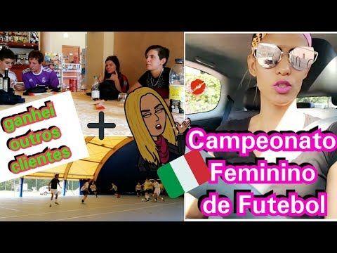 Roupas para consertar+campeonato feminino de futebol na italia+bjs por ianaina Pauferro - YouTube