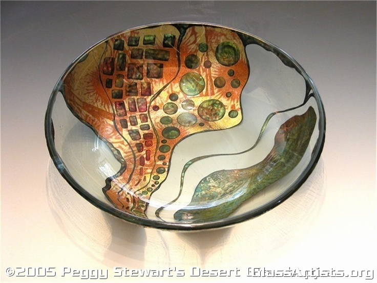 Very famous art piece by Peggy Pettigrew, in  Verre' Eglomise