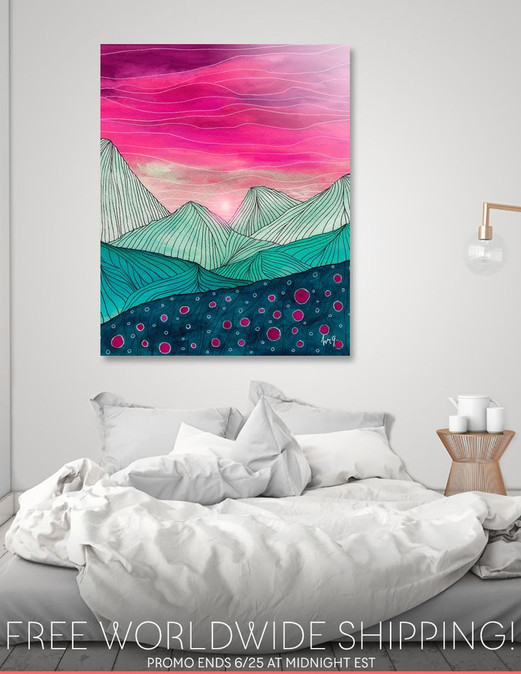 Discover «Lines in the mountains XIV», Numbered Edition Acrylic Glass Print by Viviana Gonzalez - From 70€ - Curioos