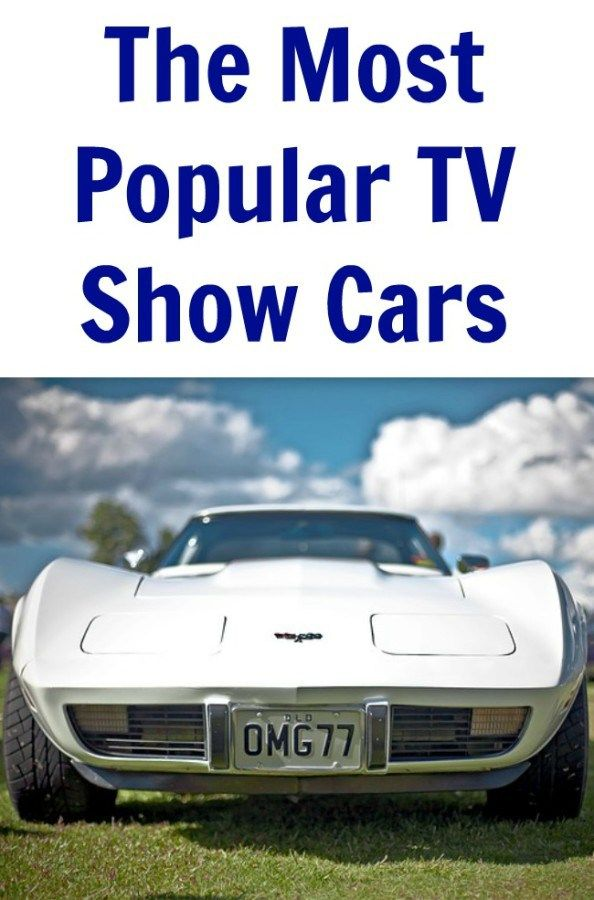 The Most Popular TV Show Cars