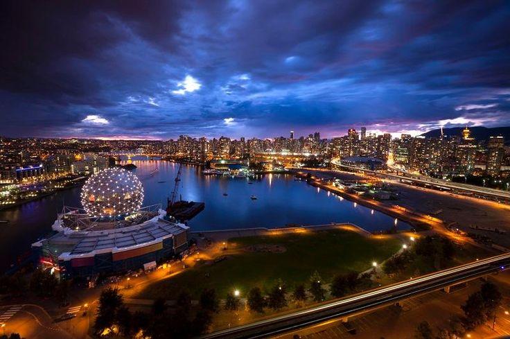 False Creek, Vancouver, BC - so dramatic !!!
