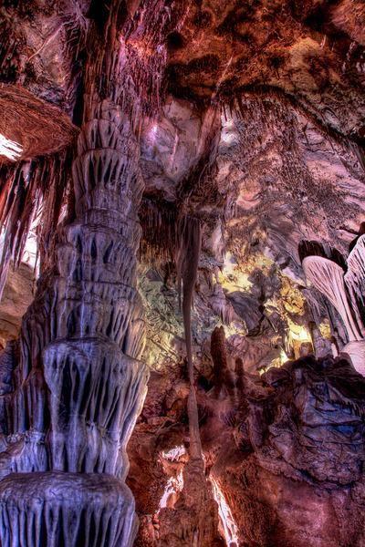Lehman Caves . Nevada