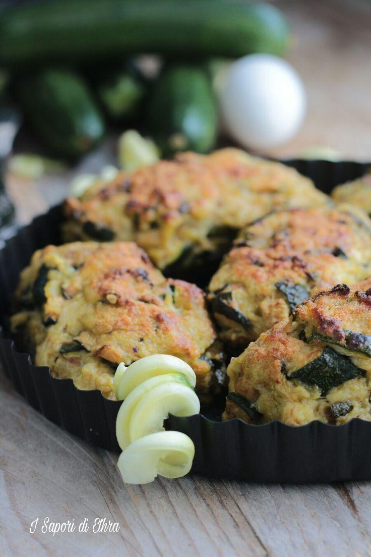 Zucchine+ripiene+al+forno+ricetta+senza+carne