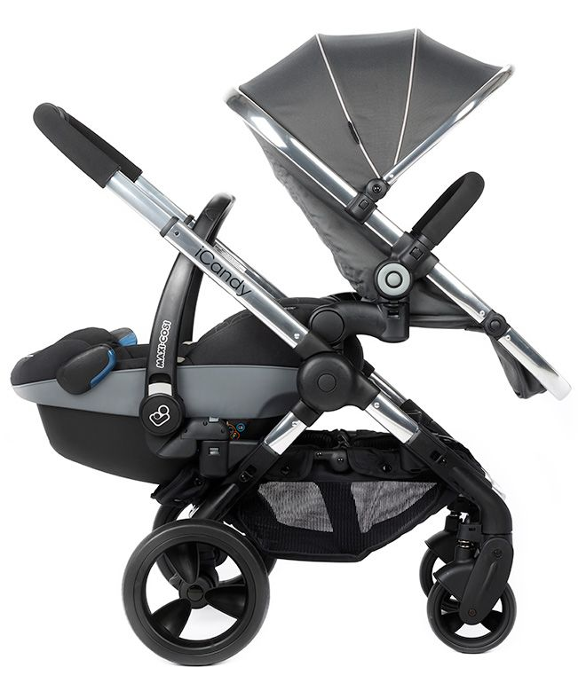Icandy Peach Double Travel System Pram Stroller Baby Icandy