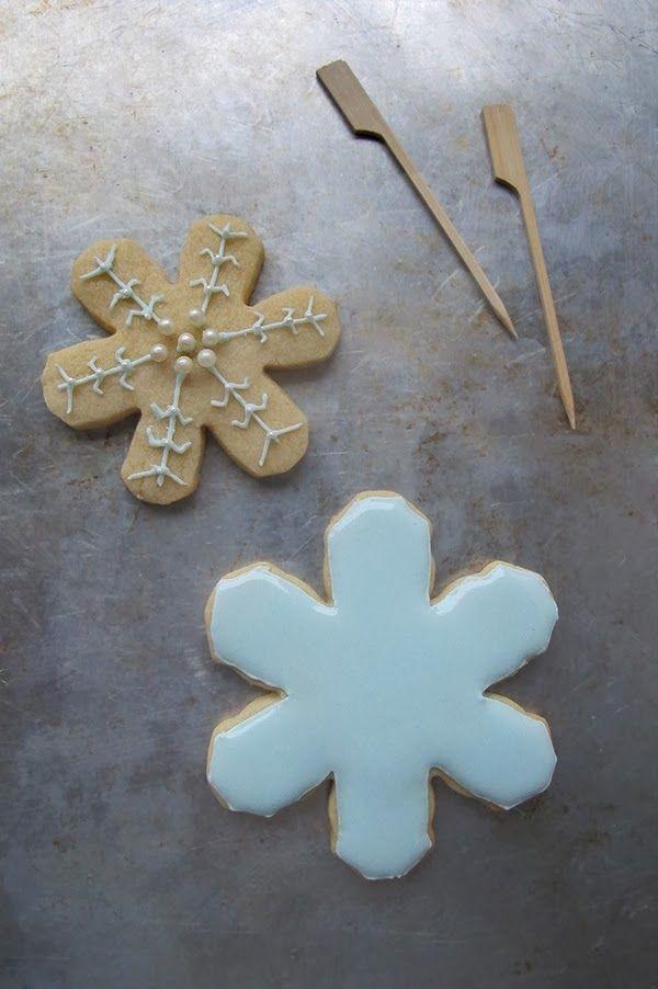 To be Gourmet: Galletas de Navidad decoradas con glasa. Tutorial.