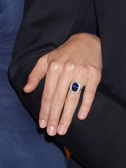 "The Beauty Tips We've Learned From Kate Middleton: Celebrity Trends: allure.com When your engagement ring is an 18-carat sapphire last worn by the most photographed woman in history, you don't want to upstage it with a color-of-the-moment polish. Middleton's nails are always pale pink and neatly trimmed. Essie Nail Polish in ""Mademoiselle"" is a perfect shade."