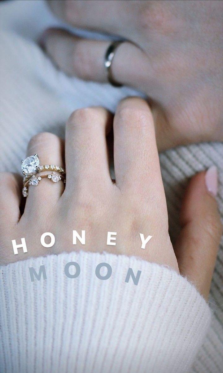 August 26 2019 Marzia Kjellberg And Felix Kjellberg Announcing Their Honeymoon Marziakjellb Wedding Rings Engagement Wedding Rings Designer Engagement Rings