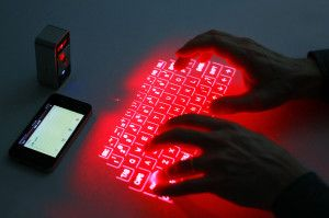Laser Keyboard- Best gear and gadgets for men. The place to find cool stuff for guys.