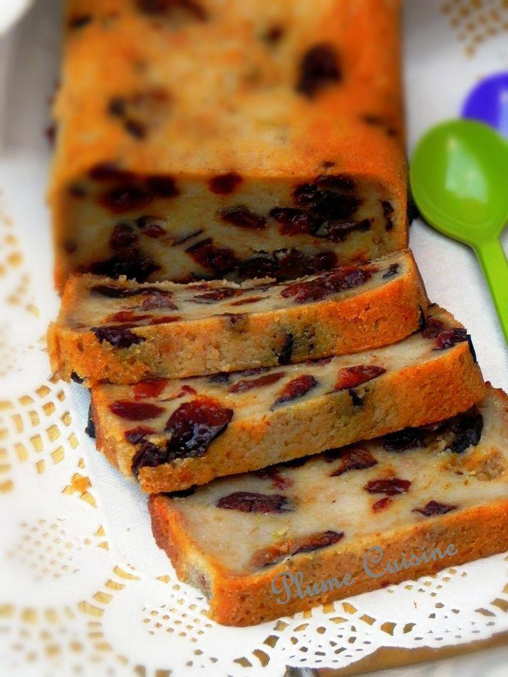 Pudding antillais au rhum, aux raisins secs et pruneaux