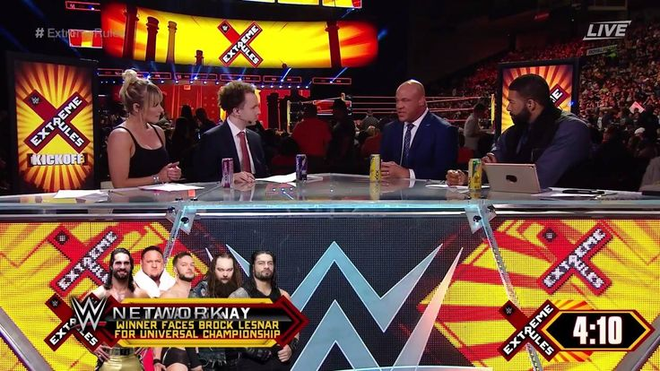 Who does WWE Raw General Manager Kurt Angle think has the advantage in tonight's Extreme Rules Fatal 5 Way match on WWE Network?