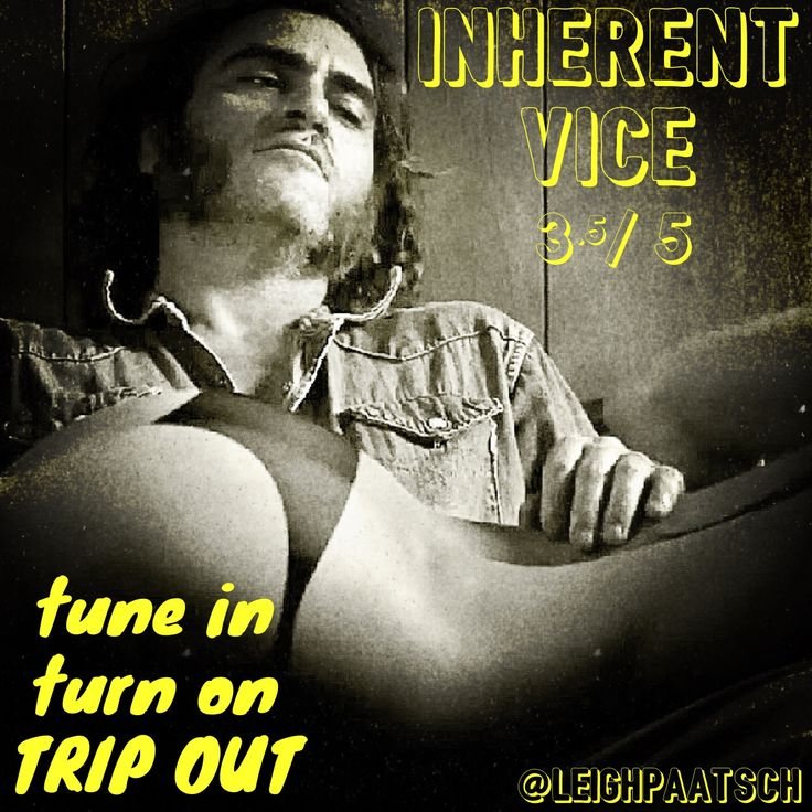 One Shot Review : INHERENT VICE  Director : Paul Thomas Anderson (There Will Be Blood)  Starring : Joaquin Phoenix, Josh Brolin, Owen Wilson, Katherine Waterston, Reese Witherspoon.