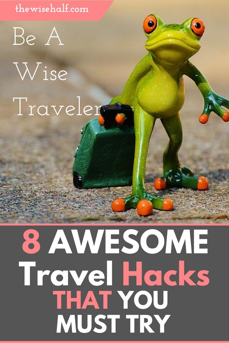 These travel hacks will definitely give you a worry free save travels anywhere. travel hacks.